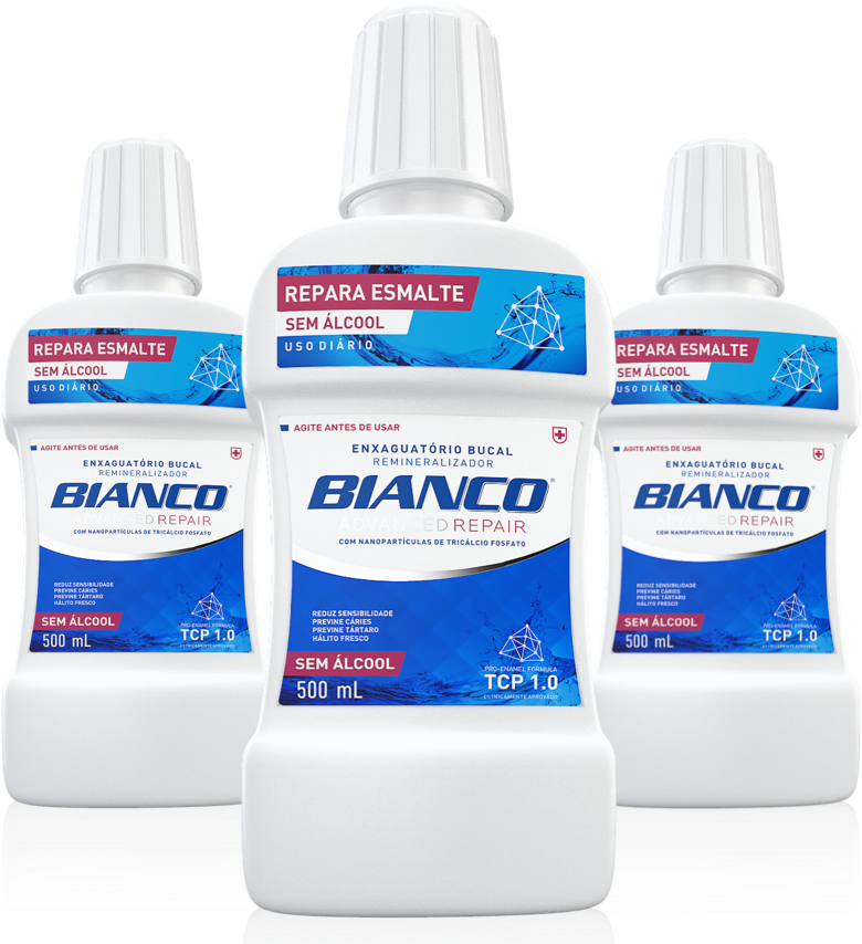 Enxaguante Bucal Bianco Advanced Repair