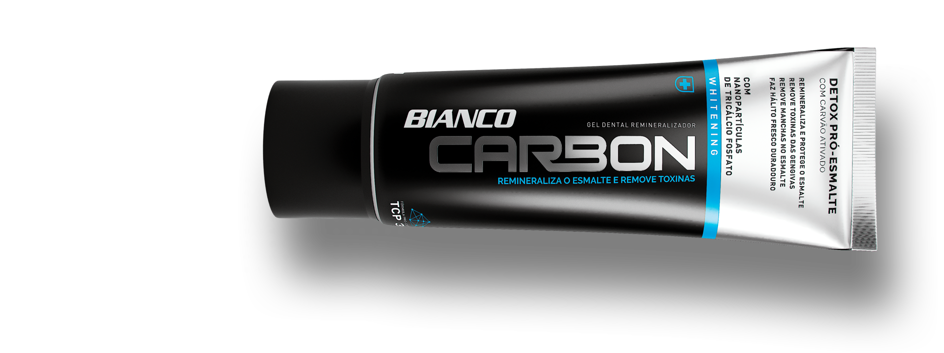 Gel Dental Bianco Carbon